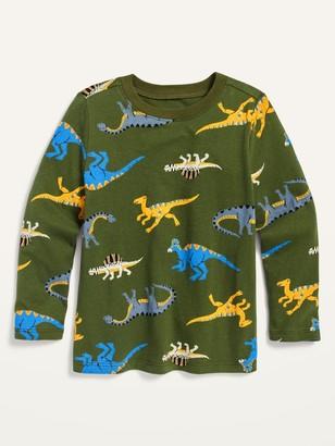 Old Navy Dino-Print Crew-Neck Tee for Toddler Boys