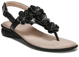 Naturalizer Soul June Flower Embellished Sandal - Wide Width Available