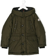 Moncler padded coat - kids - Feather Down/Polyamide/Feather - 4 yrs