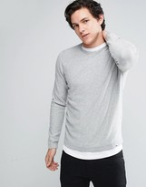 Jack and Jones Core Striped Crew Neck Sweater