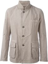 Ermanno Scervino buttoned jacket - men - Cotton/Linen/Flax - 48