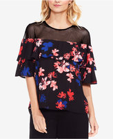 Vince Camuto Ruffled Illusion Top