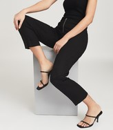Thumbnail for your product : Reiss Magda - Leather Strappy Heeled Sandals in Black