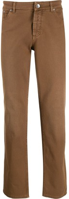Brunello Cucinelli straight-fit trousers