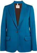 Tod's Wool-twill Blazer - Cobalt blue