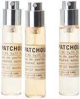 Le Labo Patchouli 24 Eau De Parfum Travel Tube Refill 3 X 10ml