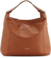 Furla Simplicity Leather Hobo Bag, Cuoio/Petalo