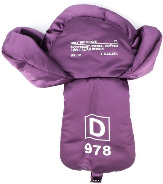 Diesel Logo Padded Hat