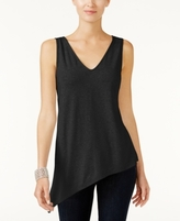 INC International Concepts Petite Asymmetrical Tank Top, Created for Macy's