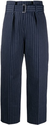 Sofie D'hoore Hickory striped-twill trousers