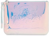 Kenzo Tiger holographic-effect clutch