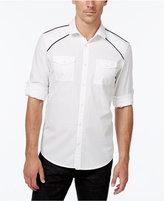 INC International Concepts Men's Hamlet Dobby Long-Sleeve Shirt, Only at Macy's