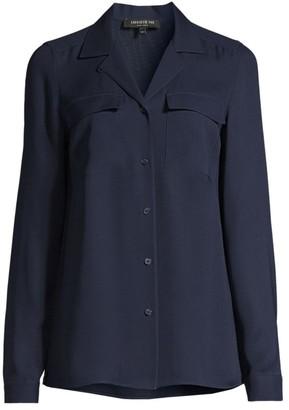 Lafayette 148 New York Rigby Silk Shirt