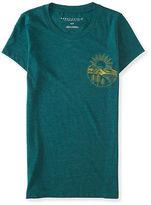 Aeropostale Womens Mountain Sunrise Graphic T Shirt