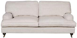 Carter Sinclair Classic Roll Arm 2.5 Seater French Linen Sofa