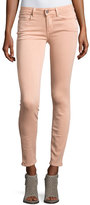 Paige Verdugo Ankle Skinny Jeans, Faded Petal Pink