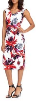 Maggy London Women's Firework Garden Midi Dress