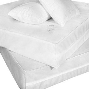 Epoch Hometex Inc Cottonloft Permashield Extra Strong Complete Bed Protector Set Bedding