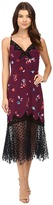 Rebecca Taylor Bellflower Print Slip Dress