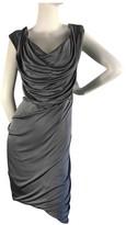 Vivienne Westwood Grey Synthetic Dresses