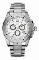 GUESS GUESS? X53001G1S 45 Silver Steel Bracelet & Case Mineral Men's Quartz Watch