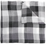 Cerruti checked scarf