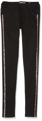 Name It Girl's Nkfpolly Twibatinna Legging W Tape Bs Trouser