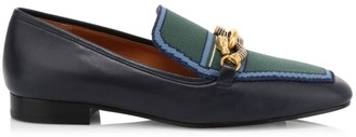 Tory Burch Jessa Leather Loafers