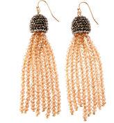 Natasha Accessories Champagne Drop Earrings