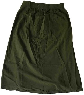 Les Prairies de Paris Khaki Dress for Women