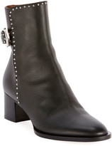 Givenchy Elegant Studded Ankle Booties