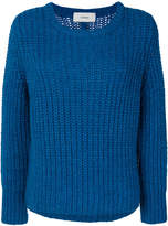 Humanoid crew knitted jumper