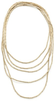 H.Stern Yellow Gold Fluid Gold Necklace