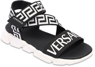 Versace Logo Sandals