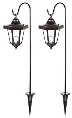 Ranex GOS-001-DB Claus lantern kit – Solar power – 2-pack