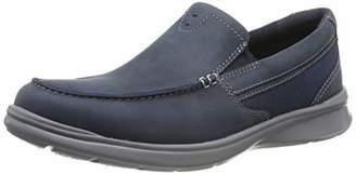 Clarks Men's Cotrell Easy Loafers, Blue (Navy Combi Navy Combi)