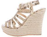Jimmy Choo Espadrille Wedge Sandals
