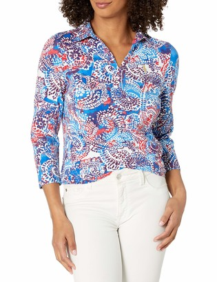 Pappagallo Women's The Susie Placket Top