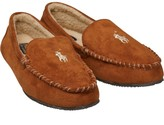 Ralph Lauren Mens Dezi Moccasin Slippers Snuff/Khaki