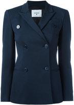 Dondup Mhina double breasted jacket - women - Polyamide/Polyester/Spandex/Elastane/Viscose - 44