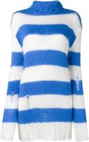 Filles a papa striped rollneck sweater