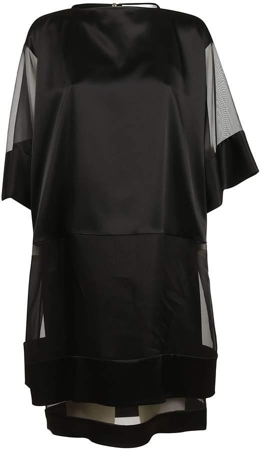 Gianluca Capannolo Sheer Panel Dress