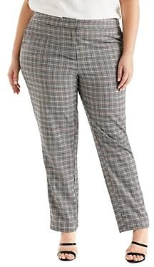 Estelle Plus Check In Pants