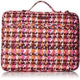 Vera Bradley Laptop Organizer Houndstooth Tweed Messenger Bag