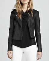 Theory Fayda Leather Motorcycle Jacket
