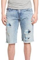 Men's True Religion Brand Jeans Ricky Cutoff Denim Shorts