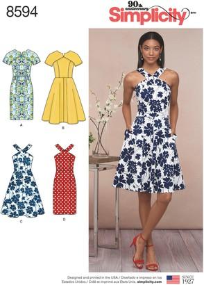 Simplicity Women's Dress Sewing Pattern, 8594