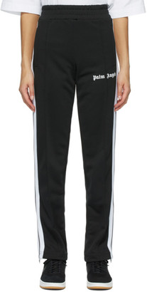 Palm Angels Black Classic Slim Track Pants
