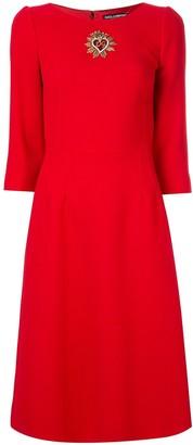 Dolce & Gabbana A-line midi dress