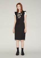Comme des Garcons Wool Garbardine Button Dress